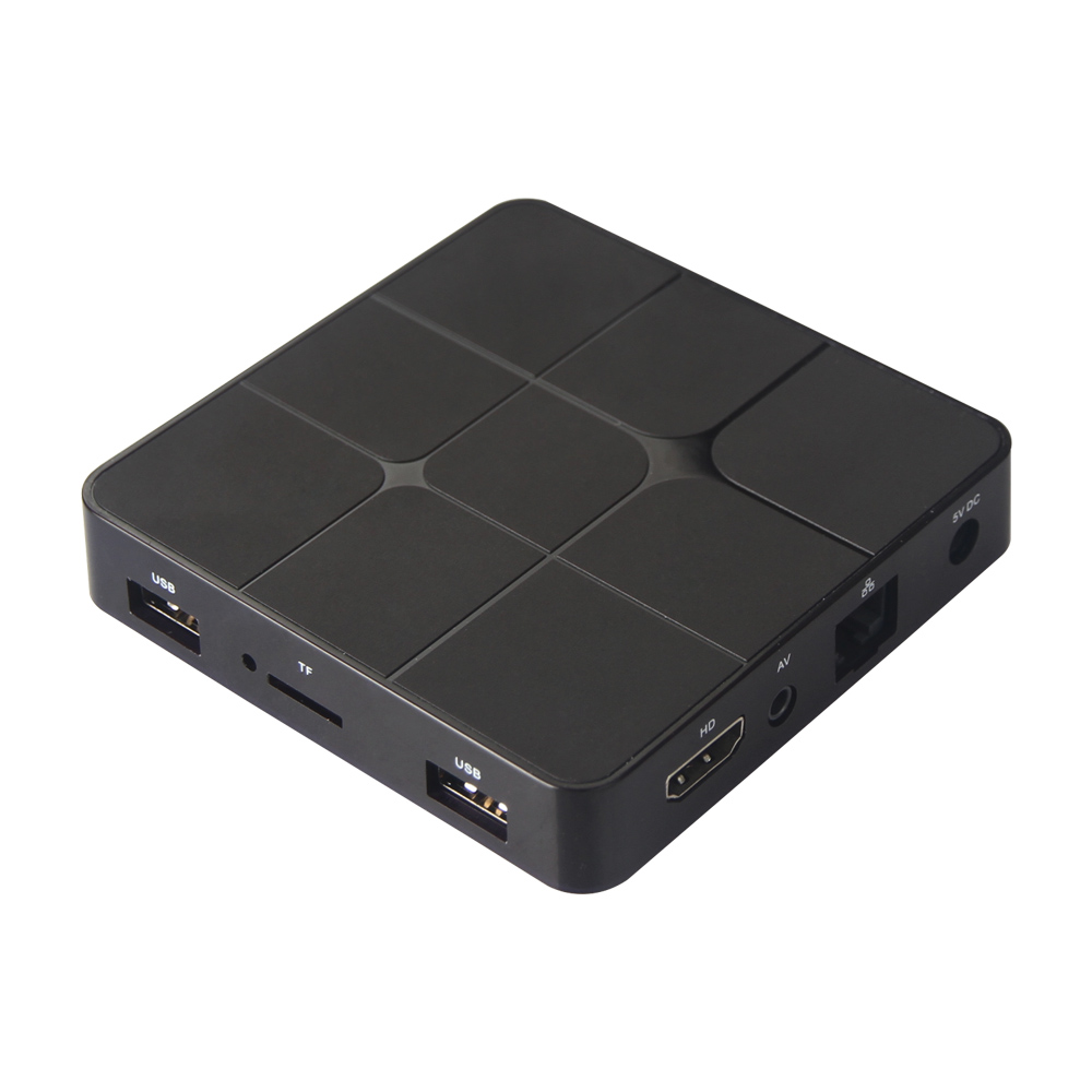 Android 4K TV Box, can connect with any monitor that with HDMI input