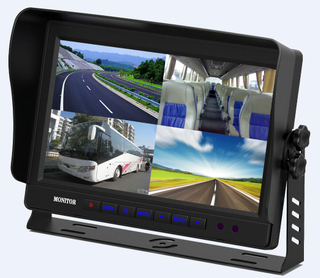 10.1 inch stand alone monitor with 4 video input